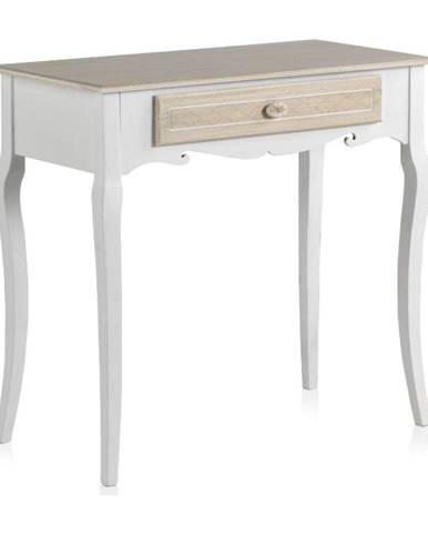 Drevený konzolový stolík so zásuvkou Geese Ethel