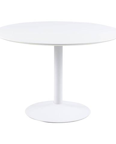 Biely okrúhly jedálenský stôl Actona Ibiza, ⌀ 110 cm