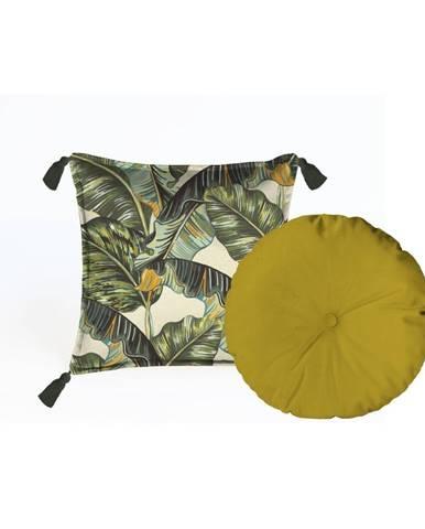 Súprava 2 dekoratívnych vankúšov Velvet Atelier Musa