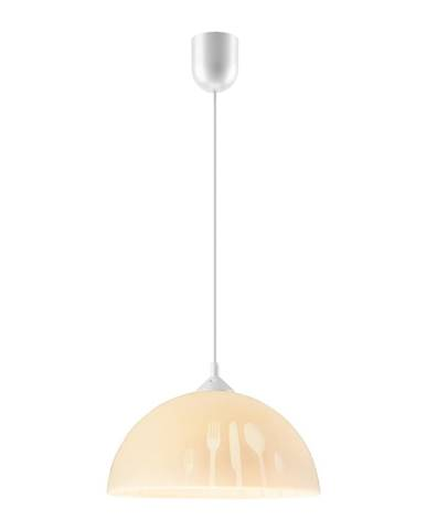 Béžové závesné svietidlo Lamkur Forks