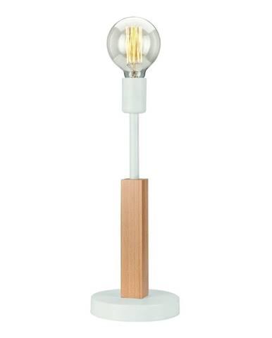 Biela stolová lampa Lamkur Orazio