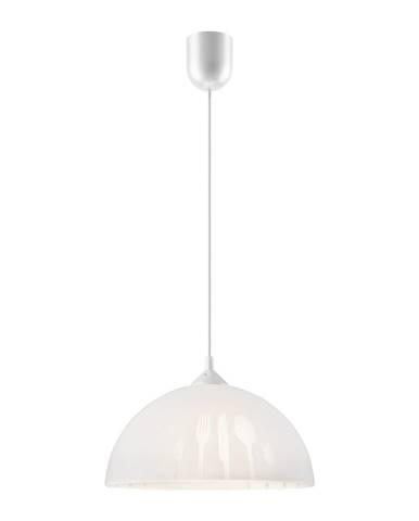 Biele závesné svietidlo Lamkur Forks