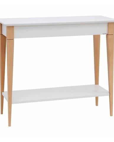 Biely konzolový stolík Ragaba Mimo, šírka 85 cm