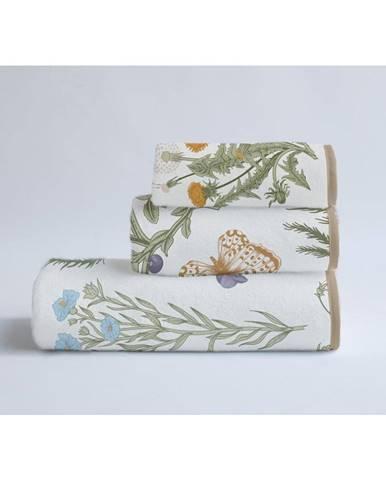 Súprava 3 uterákov z bavlny a mikrovlákna Surdic Herbs
