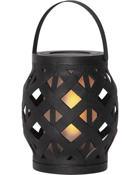 Best Season Čierny lampáš Best Season Flame Lantern, 14 x 16 cm
