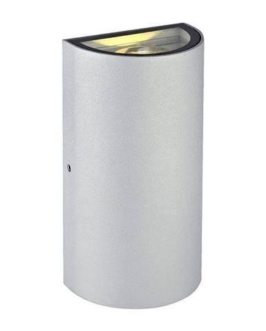 Sivé nástenné svietidlo Markslöjd Lyra