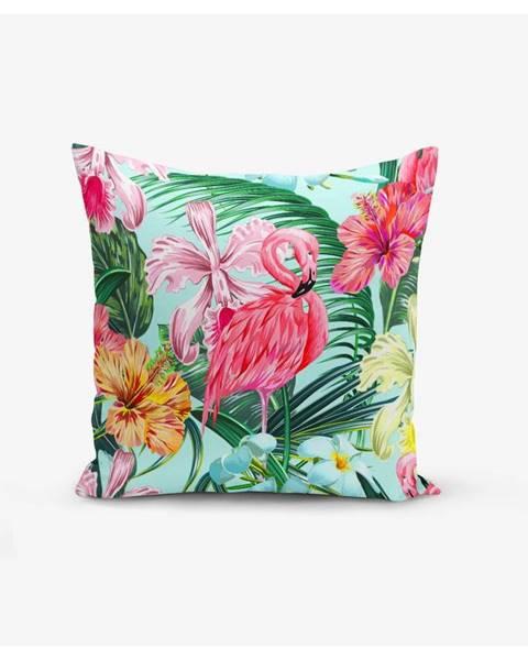 Minimalist Cushion Covers Obliečka na vankúš Minimalist Cushion Covers Yalnız Flamingo, 45 × 45 cm