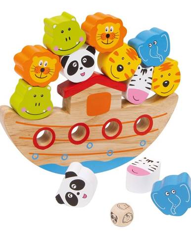 Drevená balančná hračka Legler Ark
