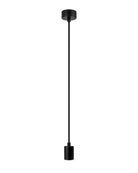 Bulb Attack Čierne závesné svietidlo bez tienidla Bulb Attack Cero