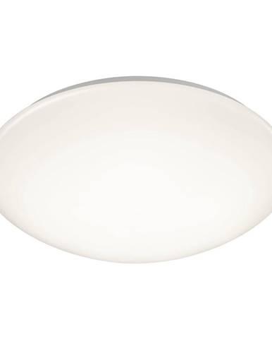 Biele guľaté stropné LED svietidlo Trio Putz, priemer 40 cm