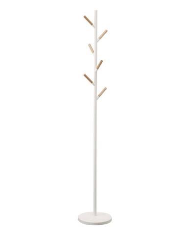 Biely vešiak YAMAZAKI Plain Pole Hanger