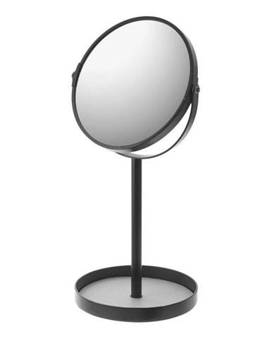 Čierne zrkadlo s miskou YAMAZAKI Matsuyama