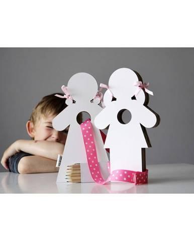 Dekoratívne bábiky na vymaľovanie Unlimited Design Duo