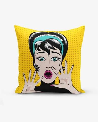 Obliečka na vankúš s prímesou bavlny Minimalist Cushion Covers PopArt Points, 45 × 45 cm
