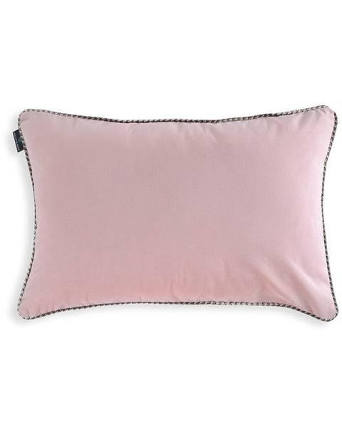 WeLoveBeds Ružová obliečka na vankúš WeLoveBeds Rose Quarz, 40 × 60 cm