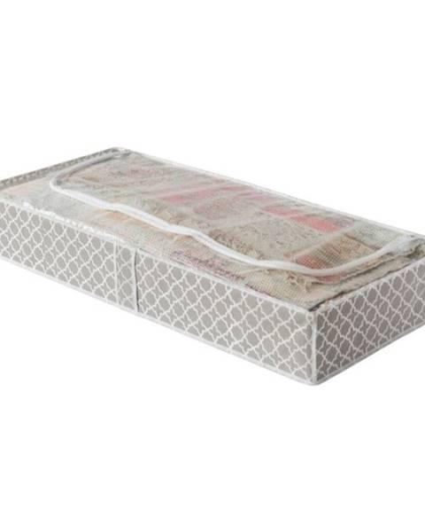Compactor Béžový úložný box pod posteľ Compactor, dĺžka 107 cm