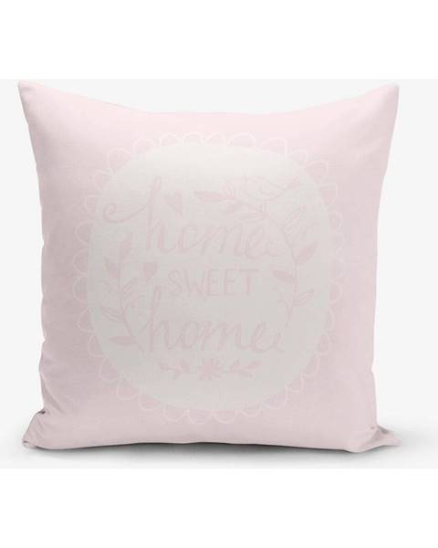 Minimalist Cushion Covers Obliečka na vankúš s prímesou bavlny Minimalist Cushion Covers Home Sweet Home, 45×45 cm
