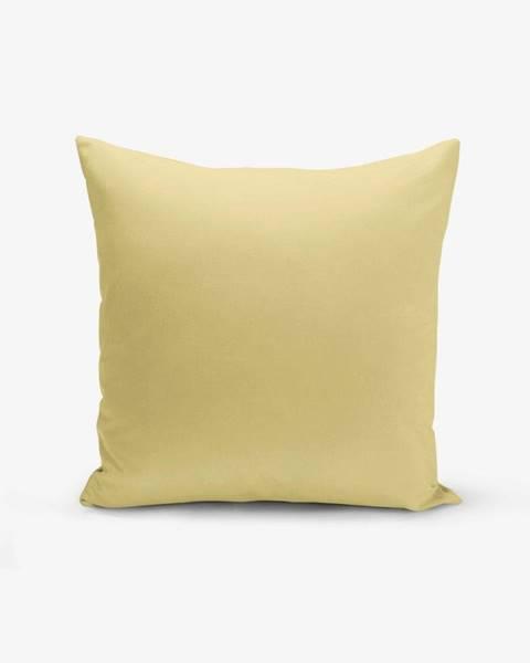 Minimalist Cushion Covers Horčicovožltá obliečka na vankúš Minimalist Cushion Covers Düz, 45 × 45 cm