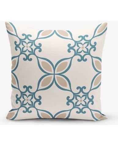 Obliečka na vankúš s prímesou bavlny Minimalist Cushion Covers Ethnic, 45×45 cm