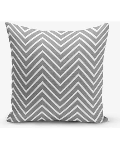 Obliečka na vankúš s prímesou bavlny Minimalist Cushion Covers Moderno, 45×45 cm