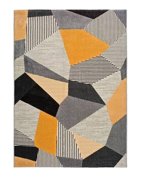 Universal Oranžovo-sivý koberec Universal Gladys Sarr, 60 x 120 cm