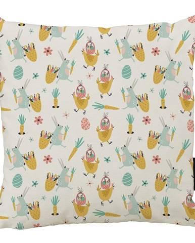 Vankúš Butter Kings z bavlny Easter Harvest III., 45 x 45 cm