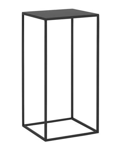 Čierny odkladací stolík Custom Form Tensio, 30 × 30 cm