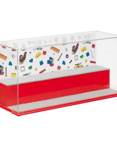 LEGO® Červená herná a zberateľská skrinka LEGO®