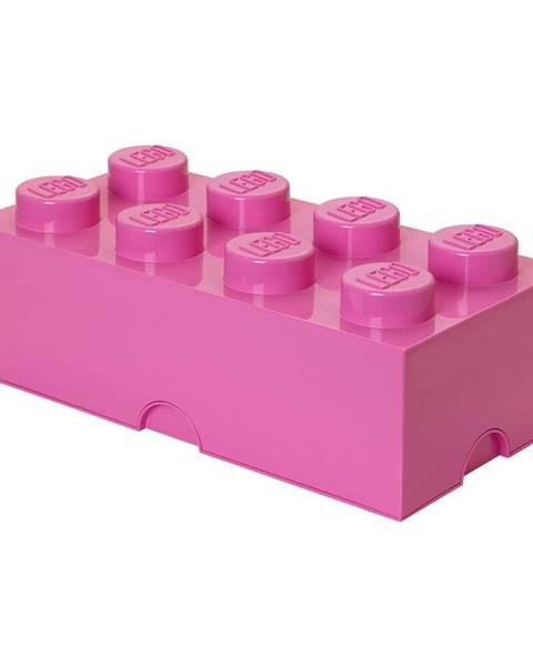 LEGO® Tmavoružový úložný box LEGO®