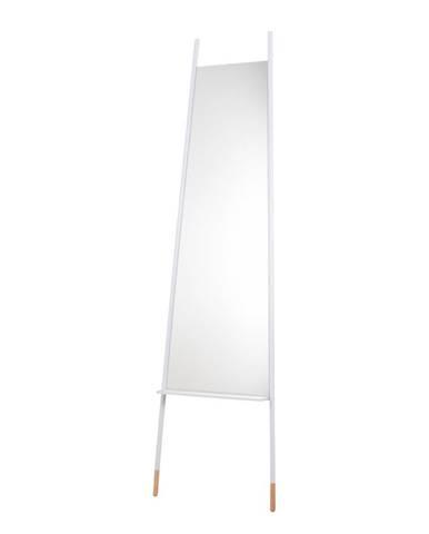 Biele zrkadlo Zuiver Leaning