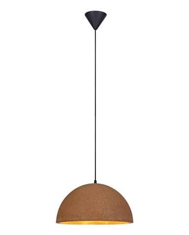 Hnedé stropné svietidlo Markslöjd Cork, dĺžka 40 cm