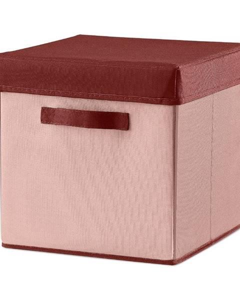 Flexa Ružový úložný box Flexa Room