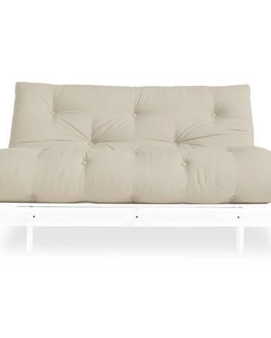 Variabilná pohovka Karup Design Roots White/Beige