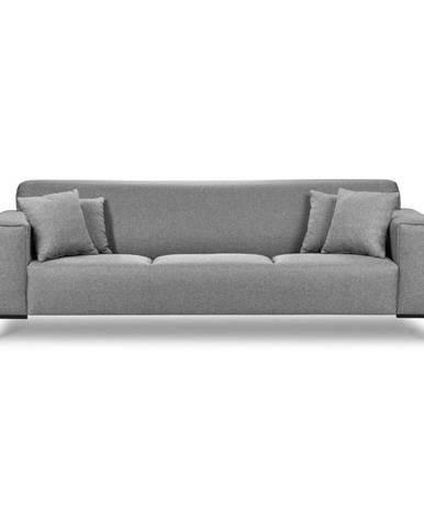 Sivá pohovka Cosmopolitan Design Seville, 264 cm