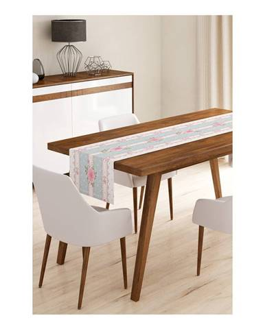 Behúň na stôl z mikrovlákna Minimalist Cushion Covers Romantic, 45×145 cm