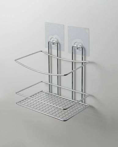 Nástenná polička do sprchy bez nutnosti vŕtania Compactor Shower