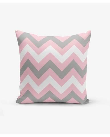 Obliečka na vankúš Minimalist Cushion Covers Zigzag Colorful, 45×45 cm