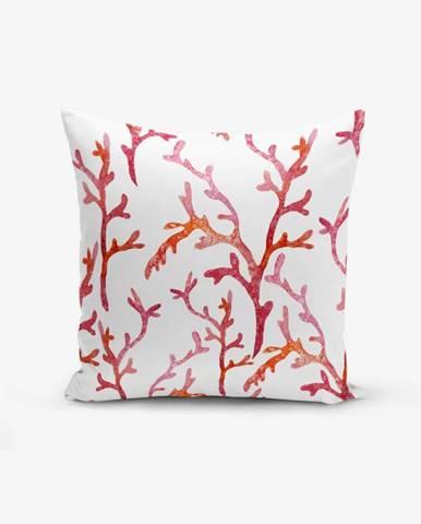 Obliečka na vankúš s prímesou bavlny Minimalist Cushion Covers Sea Plant, 45×45 cm