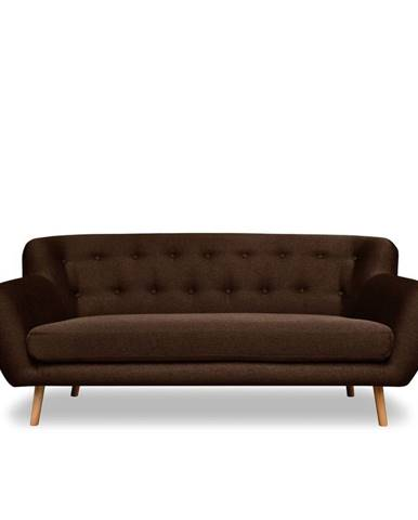 Hnedá pohovka Cosmopolitan design London, 192 cm