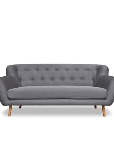 Sivá pohovka Cosmopolitan design London, 192 cm