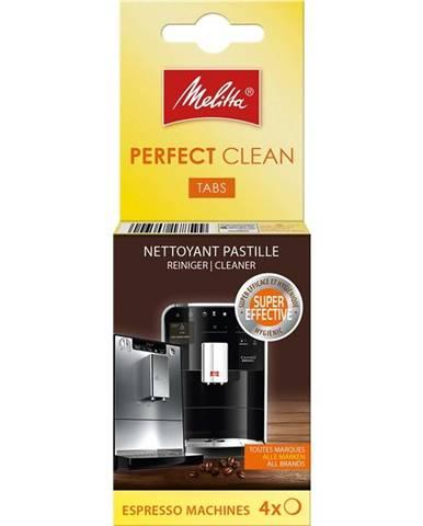 Čistiace tablety pre espressá Melitta Perfect clean Espresso 4x1,8g