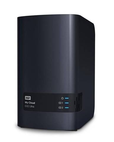 Sieťové úložište Western Digital My Cloud EX2 Ultra čierne 2xHDD,