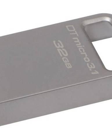 USB flash disk Kingston DataTraveler Micro 3.1 32GB kovový