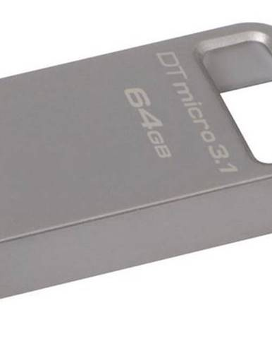 USB flash disk Kingston DataTraveler Micro 3.1 64GB kovový