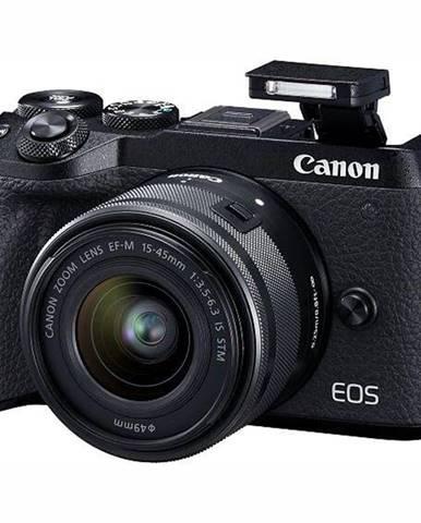 Digitálny fotoaparát Canon EOS M6 Mark II + EF-M 15-45 mm IS STM +