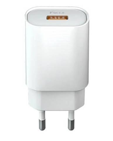 Nabíjačka do siete Forever Core 1x USB QC 3.0, 18W biela