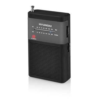 Rádioprijímač Hyundai PPR 310 BS čierny/strieborn
