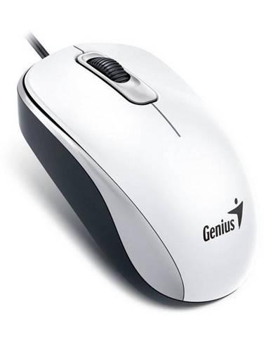 Myš  Genius DX-110 biela / optická / 3 tlačítka / 1000dpi