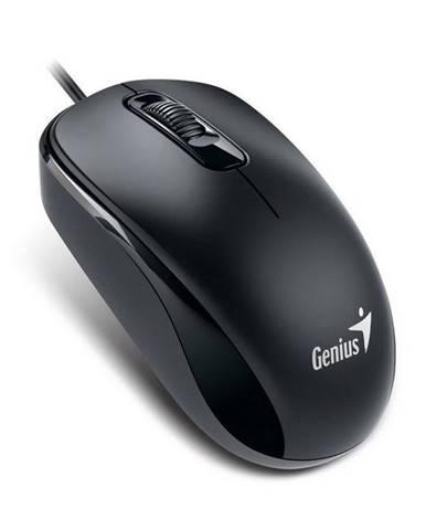 Myš  Genius DX-110 čierna / optická / 3 tlačítka / 1000dpi