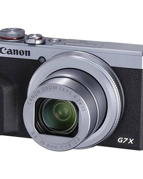 Canon Digitálny fotoaparát Canon PowerShot G7X Mark III strieborn